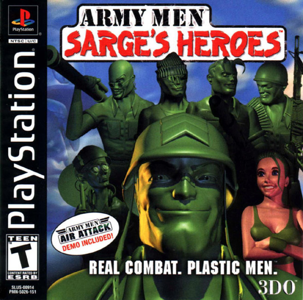 Army Men - Sarge's Heroes [U] Front Cover